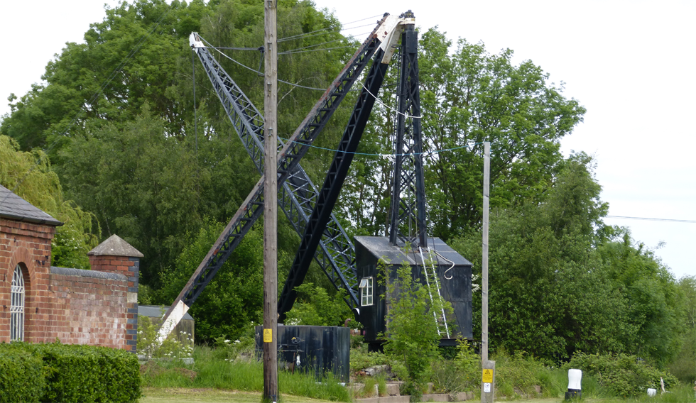 Historic Waterways Crane