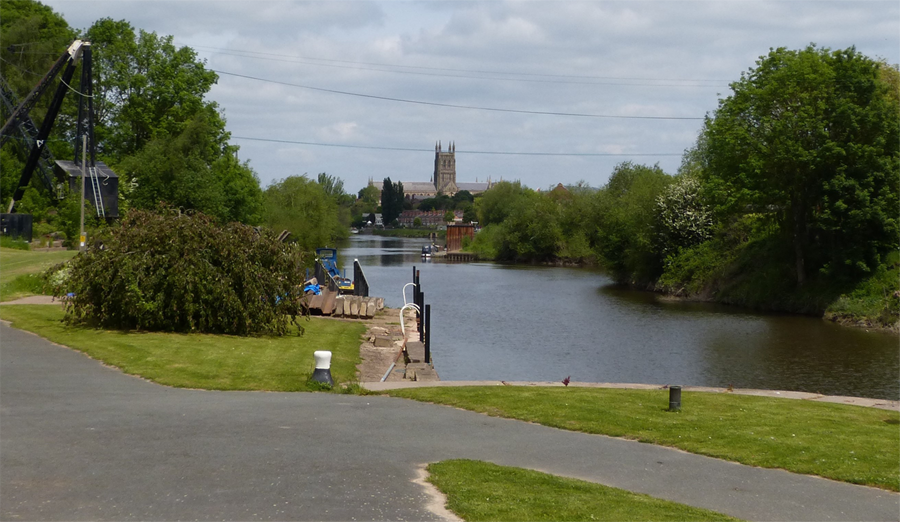 River View Towards Worcester
